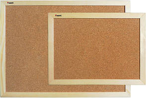 Доска пробковая Axent 45Х60см деревянная рамка (9601-А)