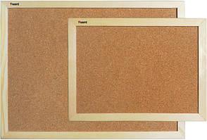 Дошка пробкова 60Х90см Axent дерев'яна рамка 9602-А
