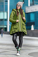 Зимняя куртка свободного кроя