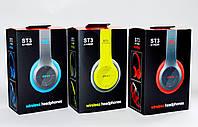 Наушники беспроводные ST Color (Bluetooth+SD card+FM+with cable)