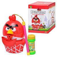 Игра M 1268 (72шт) Angry Birds, с мыльными пузырями, муз, свет, на бат-ке, в кор-ке, 18-12,5-11см
