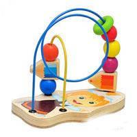 Деревянная игрушка Лабиринт Маша и медведь GT 5947