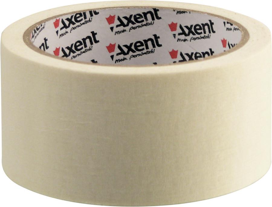 Лента клейкая Axent бумажная скотч малярный 48ммХ20м 3148-А
