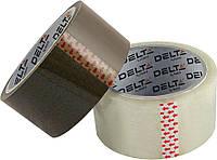 Лента клейкая упаковочная (Delta by Axent, скотч, 48ммx100ярд, 40мкм корич, D3032-02)