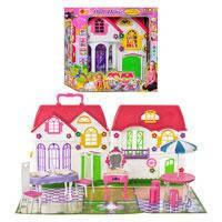 Домик для куклы Dall House 3141, 28 дет
