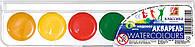 Краски акварельные (Классика, Луч, 6 цв. медовые, 19С1282-08)