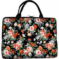 Сумка-чехол для ноутбука Цветы 169-165113