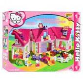 Конструктор Unico 8667-00 Hello Kitty ферма, 136 дет .55.5 см.х 33 см.х 9.5 см