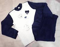 Женская махровая пижама с собачкой  44-50 размер - разный цвета