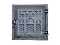 Дверка чавунна топочна ТЯЧІВ ДТ2 240х240, (24) ТМБУЛАТ