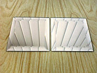 "Плитка зеркальная""серебро""600*600 фацет 15мм, фото 1"