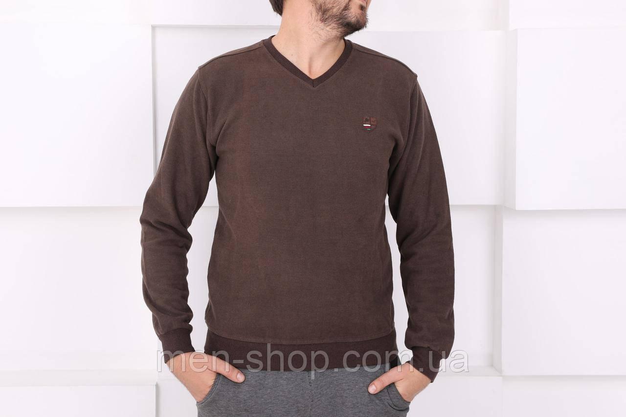 Мужской свитер коричневый