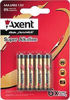 Батарейки AXENT АА LR6 1.5V, 4 шт. (щелочные) (5556-A)