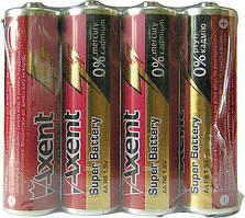 Батарейки AXENT АА R6 1.5V, 4 шт. (солевые) (5556-1-A)