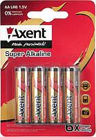 Батарейки ААА, LR03 (Axent, 4шт, 5553-А)