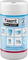 Салфетки для экранов Axent влажные 100 шт 5302-А