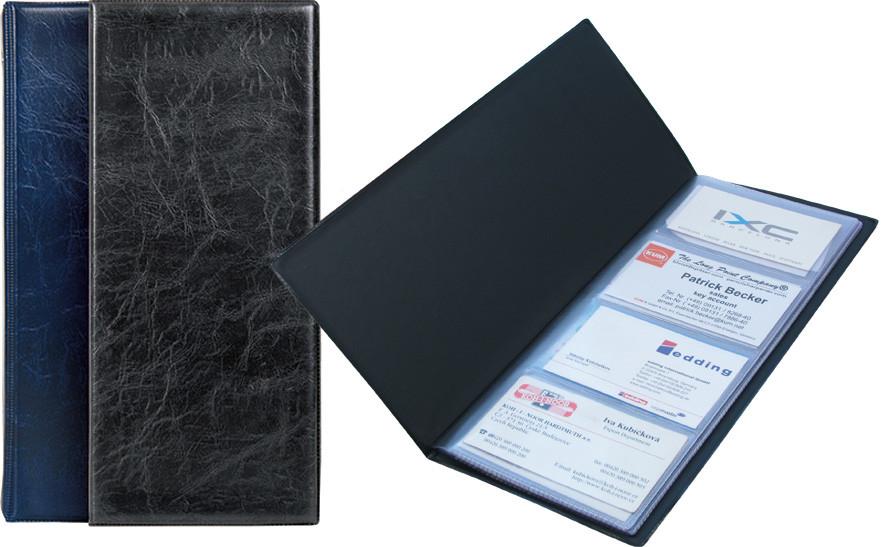 Папка визитница Xepter Axent 80 визиток черный 2502-01-А