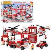 Конструктор Пожарная станция Best-lock 75052 , 750 дет