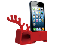 Аудиоусилитель для iPhone 5/5S - Ozaki O!music Zoo Deer Red