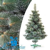 Искусственная сосна КРЫМСКАЯ ЗАСНЕЖЕННАЯ тёмно-зелёная 90 см, фото 1