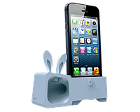 Аудиоусилитель для iPhone 5/5S - Ozaki O!music Zoo Rabbit Blue