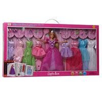 Кукла с одеждой DEFA 8266  2 вида