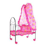 Кроватка для кукол Melobo 9394
