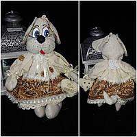 """Шикарная игрушка ручной работы """"Амелия"""", выс. 35-37 см., 490/450 (цена за 1 шт. + 40 гр.)"""