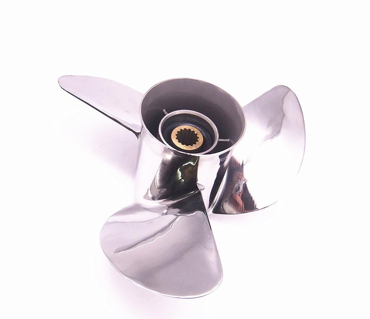Винт Yamaha 13-3/4x15-F (60-140 л.с.) нерж.