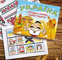 Шоколадный набор Патриотическая Украина 229-1841974, фото 1