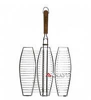 Решетка для рыбы гриль 38*36см
