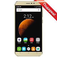"""Смартфон 5.5"""" CUBOT Dinosaur 3GB+16GB Золотистый изогнутый экран Android 6 камера 8Мп 4150 mAh+селfи в подарок"""