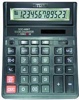 Калькулятор большой, бухгалтерский citizen sdc-888, 12 разрядов, большие кнопки и дисплей, автоотключение