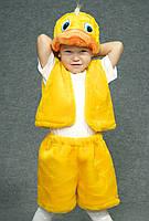 Детский карнавальный костюм Утенок 342-3233103