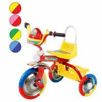 Велосипед трехколесный Метр+ B 2-1/6010 с музыкальной панелью (4 расцветки)