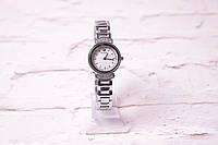 женские часы Svarovski  В 109 в серебре с белым циферблатом