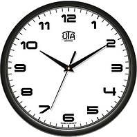Часы настенные круглые черные Классика 110-1083229