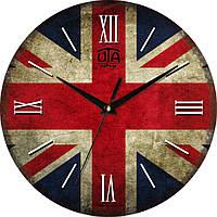 Часы настенные круглые Великобритания 110-1083235