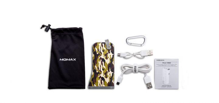 Малогабаритная и компактная батарея Momax iPower Tough