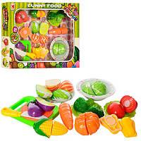 Детский игровой набор Продукты 618B  на липучке, овощи