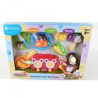 Детский игровой набор Продукты WD-Q02 на липучке, плита