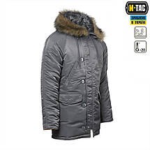 "Куртка N3B ""Зимнее солнце"" (Аляска) серая, фото 2"