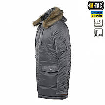 "Куртка N3B ""Зимнее солнце"" (Аляска) серая, фото 3"