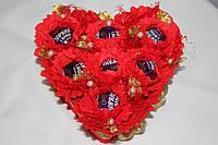 Букет из конфет Влюбленное сердце 229-18410232
