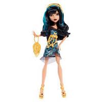 Кукла Монстер Хай Клео де Нил Страх! Камера! Мотор! (Monster High Cleo De Nile Frights! Camera! Action!)