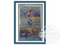 Набор для вышивки картины Морская Дева 77х54см 374-37010662