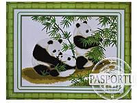Набор для вышивки картины Счастливое семейство 61х49см 373-37010684