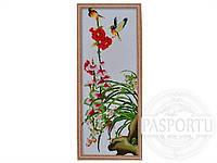 Набор для вышивки картины Яркие птички 91х40см 373-37010683