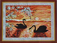 Набор для вышивки картины Закат 47х35см 373-37010688