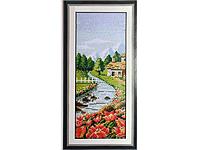 Набор для вышивки картины Время года - Весна 40х20см 372-37010764